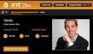 Screen shot_Tubridy radio show_CAW