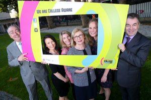 Minister for Education & Skills, Jan O'Sullivan launching CAW15